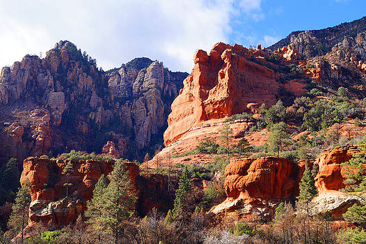 Red rock country landscapes by Broderick Delaney