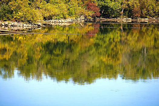 Reflections along the Susquehanna by John Holloway