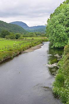 River Dwyryd Wales by Jane McIlroy