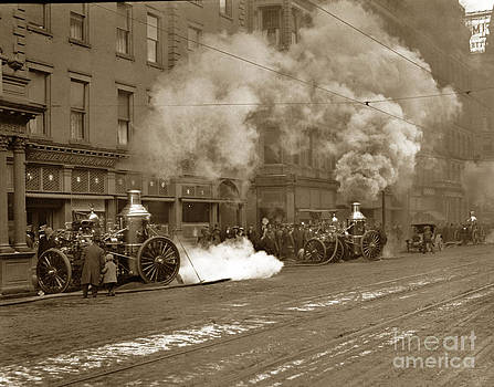 California Views Mr Pat Hathaway Archives - Steam pumper Rochester Show Case Co. Fire circa 1890s