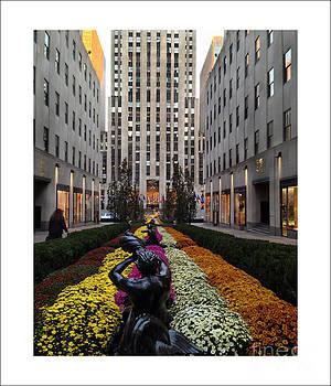 Rockefeller Center by Iris Posner