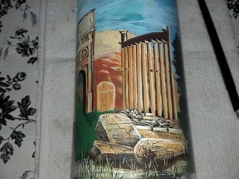 Roman ruins by Dan Olszewski