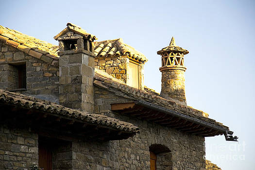 Roof And Chimneys by Stefano Piccini