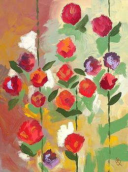 Rose Garden by Elena Bulatova