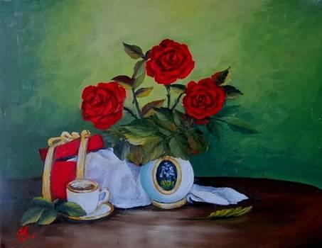 Roses 3 by Fineartist Ellen