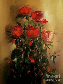 Roses by Nelu Gradeanu