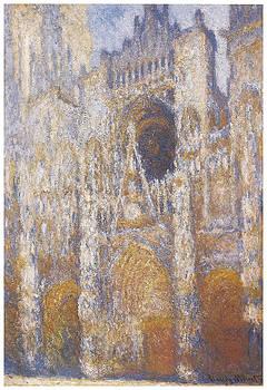 Claude Monet - Rouen Cathedral Facade
