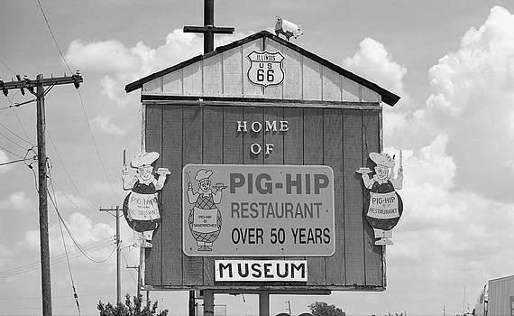 Frank Romeo - Route 66 - Pig-Hip Restaurant