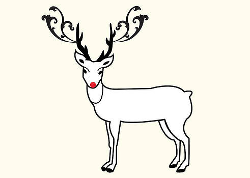 Rudolph The Red Nose Reindeer by Pamela Altschwager