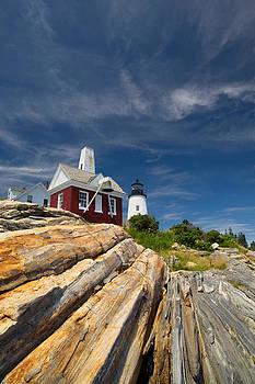 Rustic Pemaquid Point Light by Tim Devine