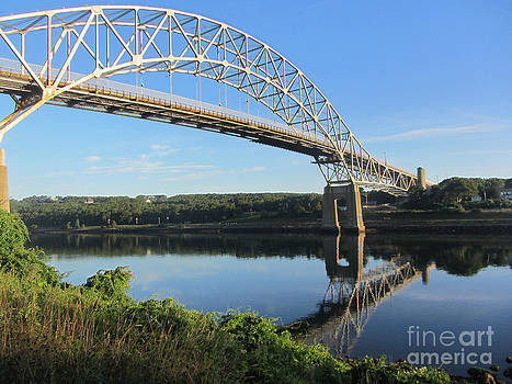 Sagamore Bridge Cape Cod by Lisa  Marie Germaine