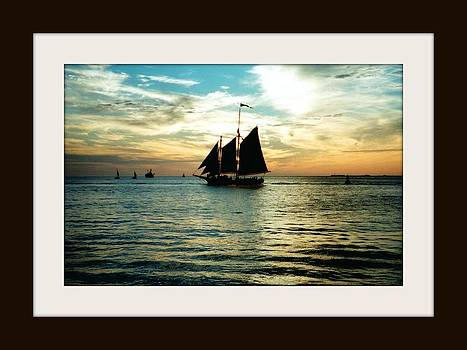 Sailboat by Bruce Kessler