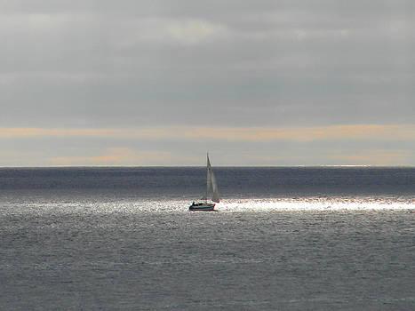 Sailing by Amanda Eberly-Kudamik