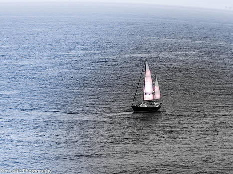 Sailing away by Kim Loftis