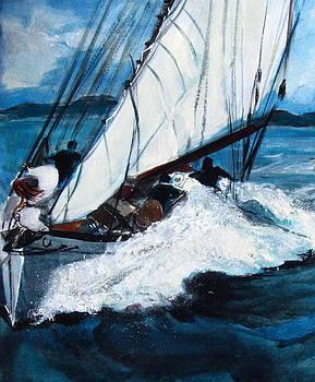 Betty Pieper - Sailing