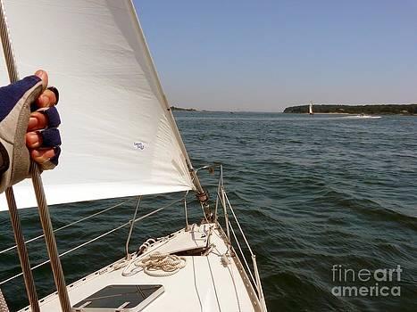Christine Stack - Sailing