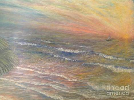 Sailing into the sunset by Linea App