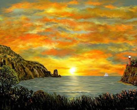 Sailing Off into the Sunset by Ave Hurley