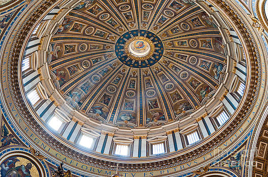 Saint Peter's Basilica Dome by Luis Alvarenga