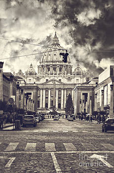 Sophie McAulay - Saint Peters basilica Rome