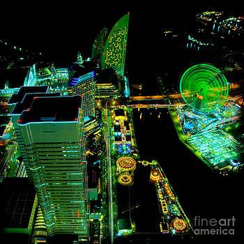 Sakuragicho at Night by Julian Cook
