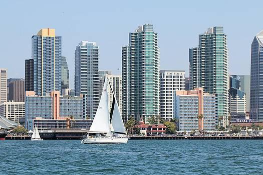 Jane Girardot - San Diego Skyline