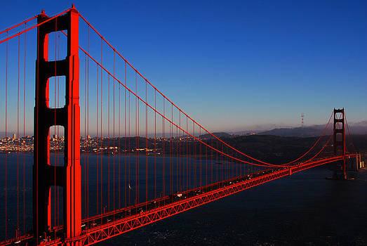 San Francisco Golden Gate Bridge by Mischelle Lorenzen