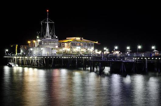 Santa Monica Pier by Vanessa Espinoza