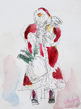 Santa by Wade Binford