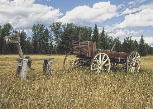 Scott Wheeler - Sawhorse and Wagon
