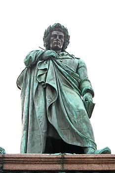 Schiller statue by Borislav Marinic
