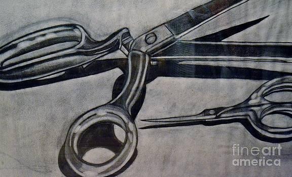 Scissors by Cecilia Stevens