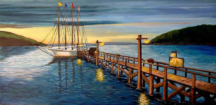 Sea Maiden by Janet Glatz