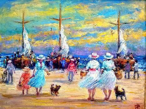 Sea Market by Philip Corley