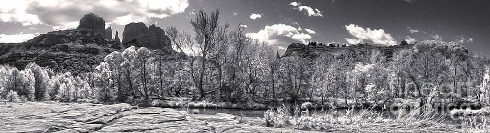 Gregory Dyer - Sedona Arizona Cathedral Rock Panorama
