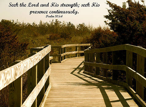 Seek The Lord by Roseann Errigo