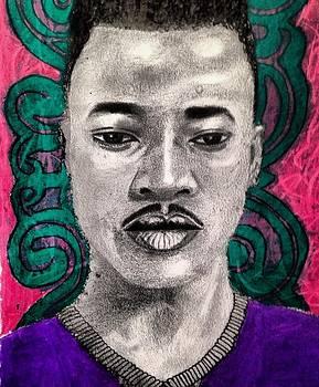 Self portrait by Abiodun Bewaji