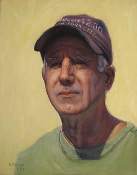 Self Portrait In Yellow by Dan Fusco