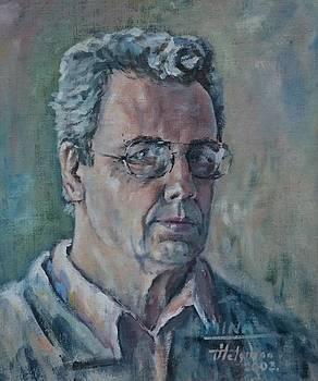 Self- portrait by Ylo Telgmaa