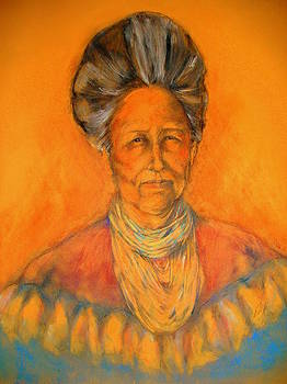Seminole Woman by Johanna Elik