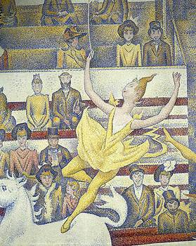 Seurat, Georges 1859-1891. The Circus by Everett