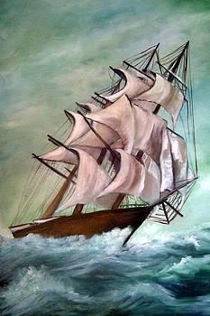 Ship by Ibolya Marton