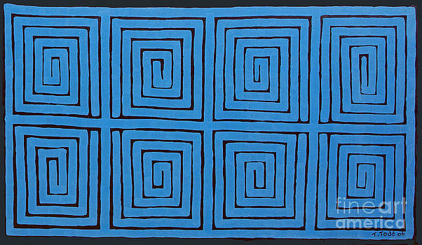 Simple Mazes No.2 by Trevor Todd