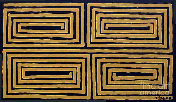 Simple Mazes No.5 by Trevor Todd