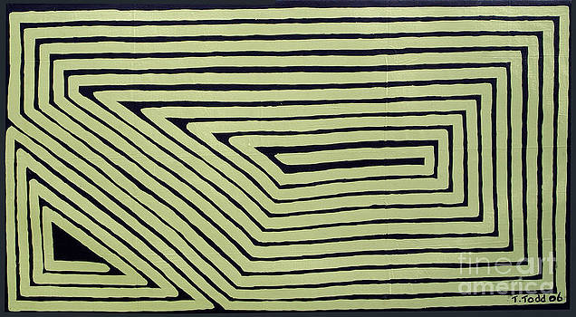 Simple Mazes No.6 by Trevor Todd