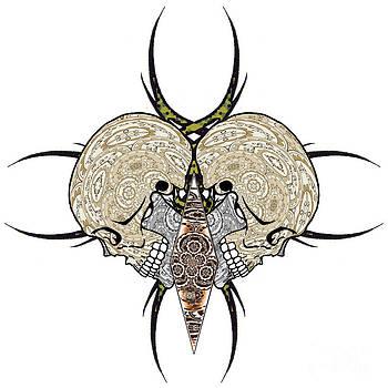 Skull Motif by Thomas OGrady