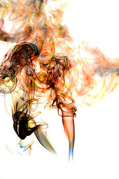 Smoke Abstract by Cecil Fuselier