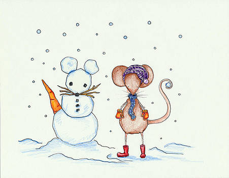 Snow Mouse and Friend by Sarah LoCascio