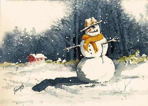 Sam Sidders - Snowman