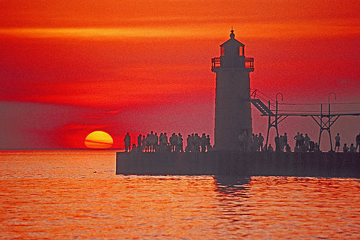 Dennis Cox - South Haven Lighthouse